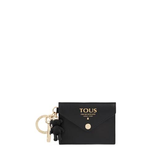 Schwarzer Schlüsselanhänger TOUS Envelope mit Mini-Kosmetiktasche