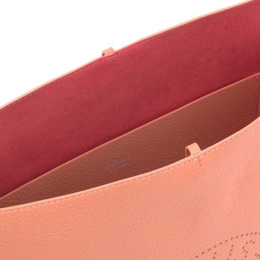 Orange Leather Leissa Shoulder bag