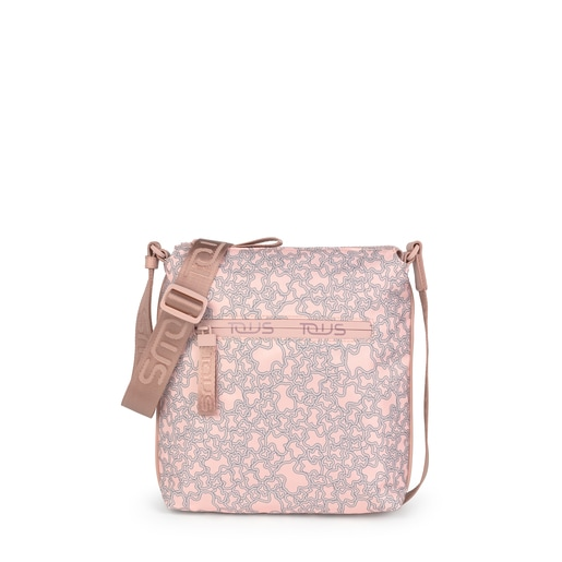 Pink Flat Kaos Mini Sport crossbody bag