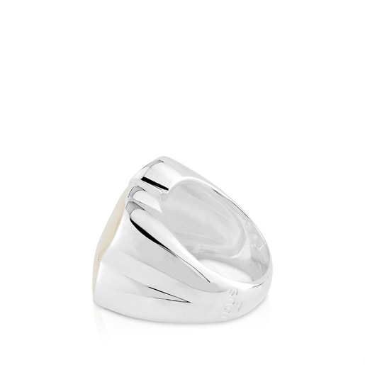 Anillo Color de Plata