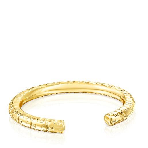 Bracelet Straight XL en Argent Vermeil