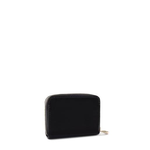 Medium black Dorp Change purse