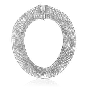 Collar Netting de Plata