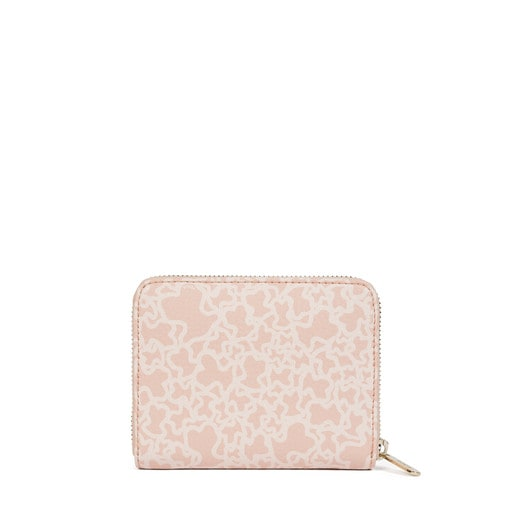 Small pink Canvas Kaos Mini Wallet