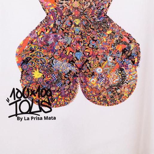White T-shirt La Prisa Mata