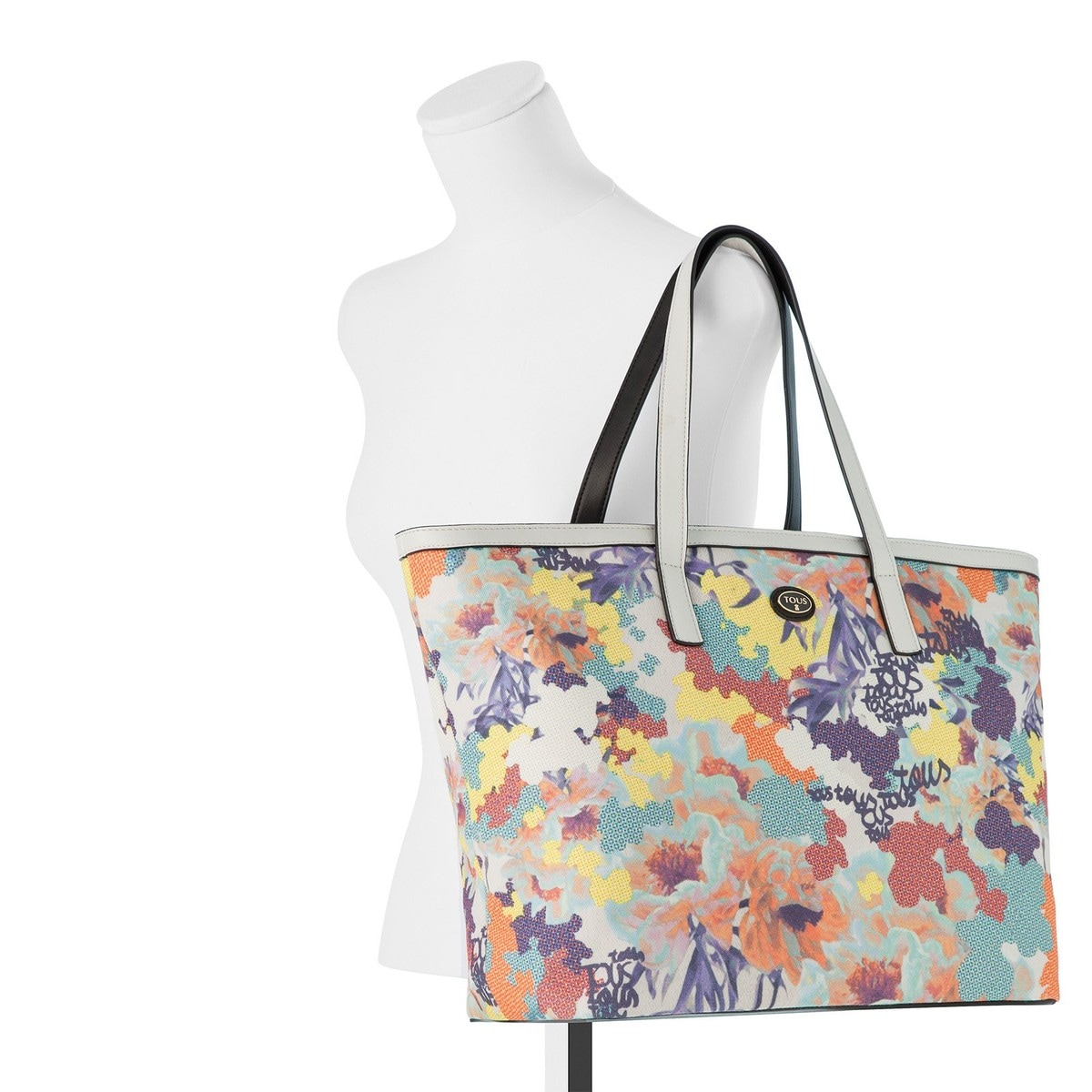 Medium multicolored Leesy Tote bag