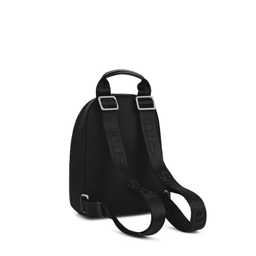 Small black and gray Ina backpack