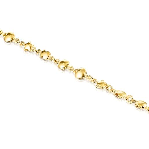Silver Vermeil Mini Icons Bracelet