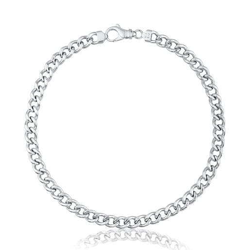 Silver TOUS Basics Necklace