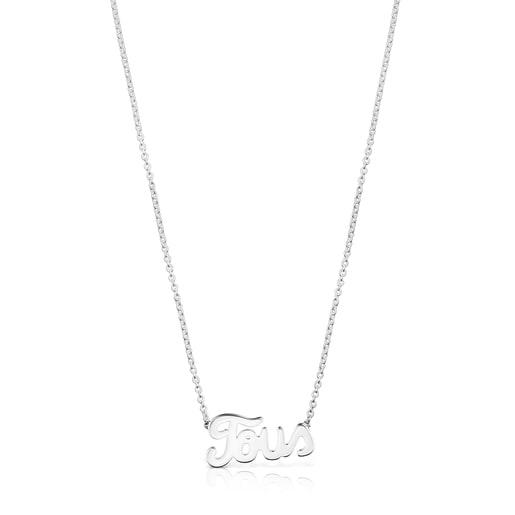 Halskette TOUS Logo aus Silber