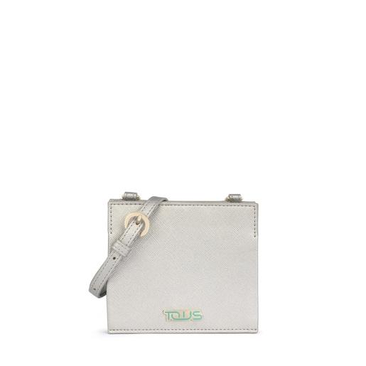 Silver-gray New Essence Wallet-Crossbody bag
