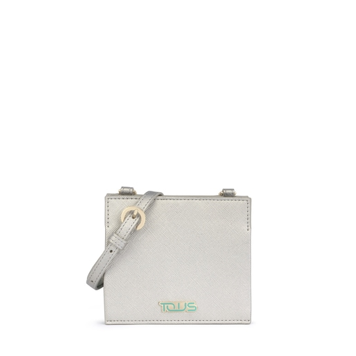 Silver-gray New Essence Wallet-Crossbody bag