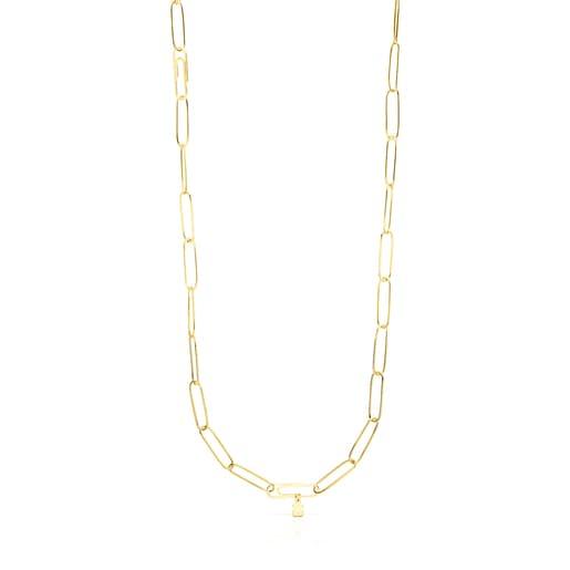 Halskette TOUS Good Vibes aus Vermeil-Silber