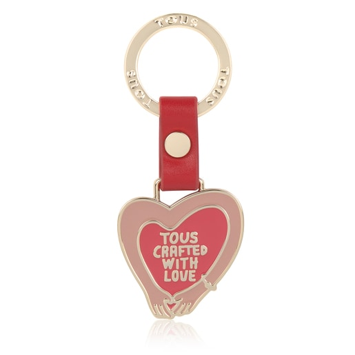 Red With Love Key Ring