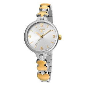 Two-tone Dreamy watch in gold IP steel