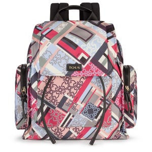 Multicolored Nylon Doromy Backpack