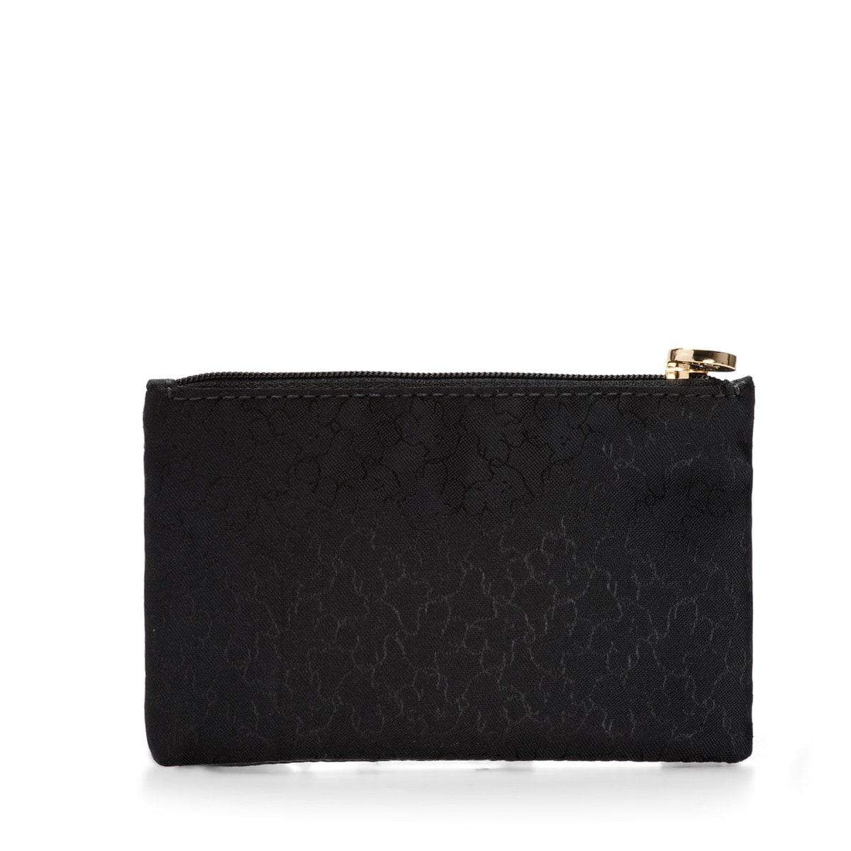 Small black Nylon Clasica Toiletry bag