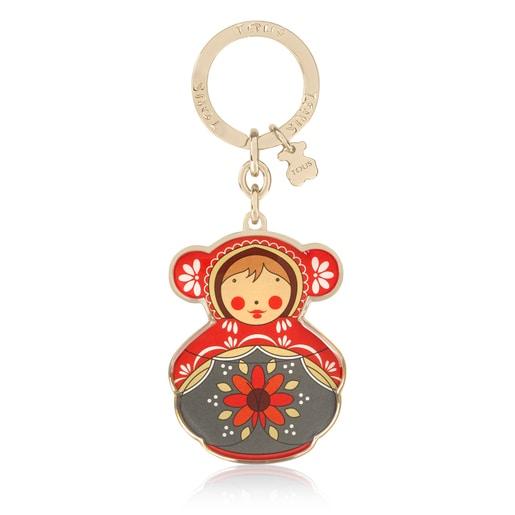Schlüsselanhänger Oso Russia mehrfarbig