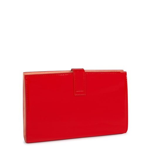 Medium red and pink New Dorp Wallet
