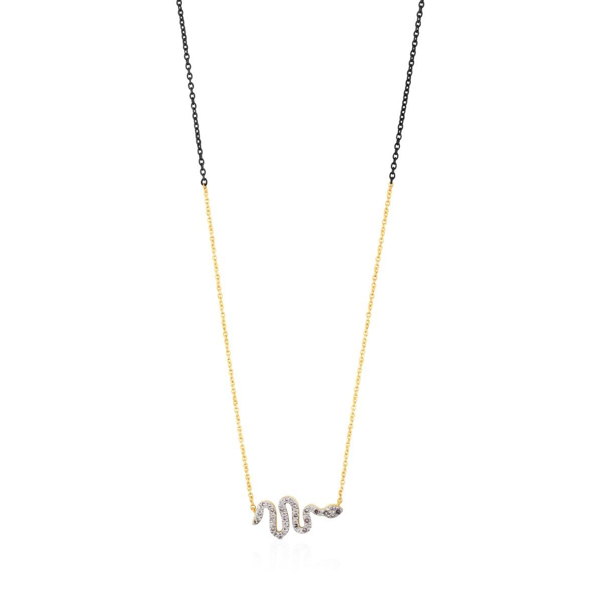 3bf4c89d5de6 Collar Gem Power de Oro y Plata con Diamantes - Sitio web Tous España