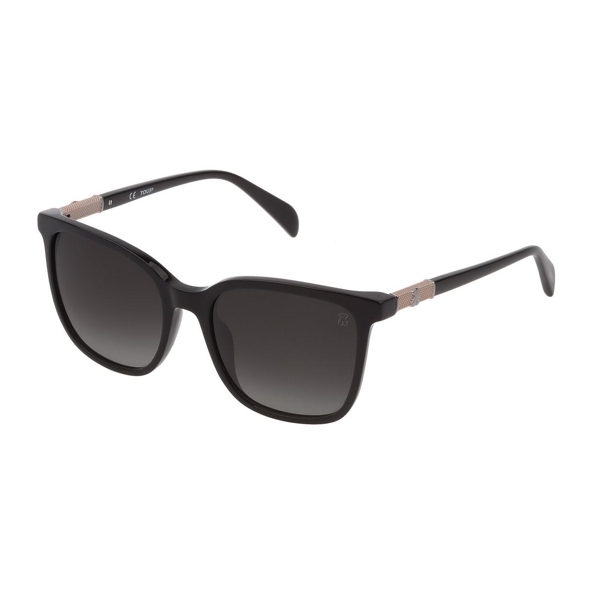 Black Acetate Mesh Sunglasses