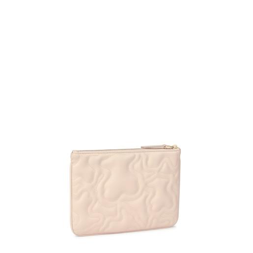 Beige Kaos Dream Clutch bag