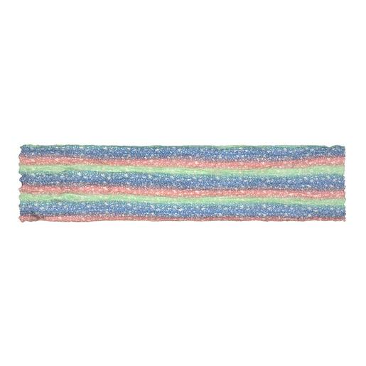 Multicolor Sand Mini Gradient Pleated Foulard