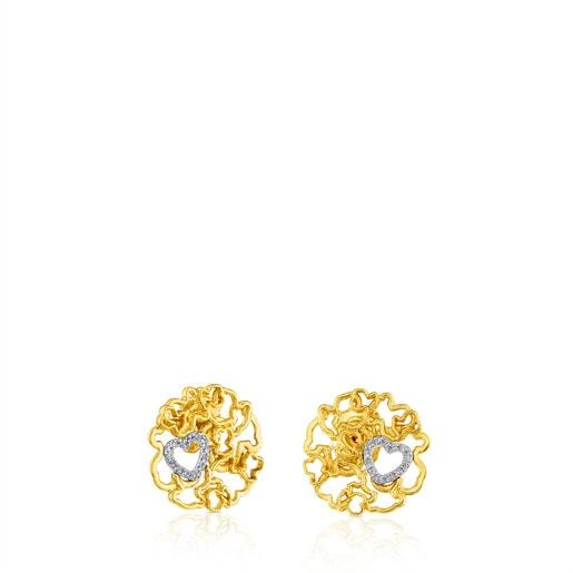 Ohrringe Milosos aus Gold