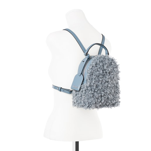 Small blue Dulzena Ritzo backpack