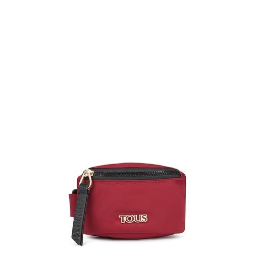 Μίνι κόκκινη τσάντα-περικάρπιο Shelby