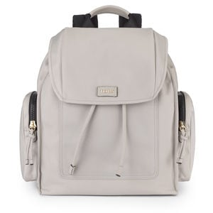 Taupe Nylon Doromy Backpack