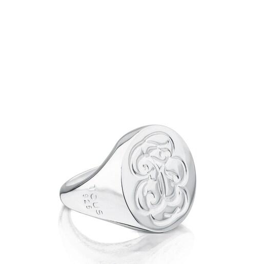 Silver Rubric Ring