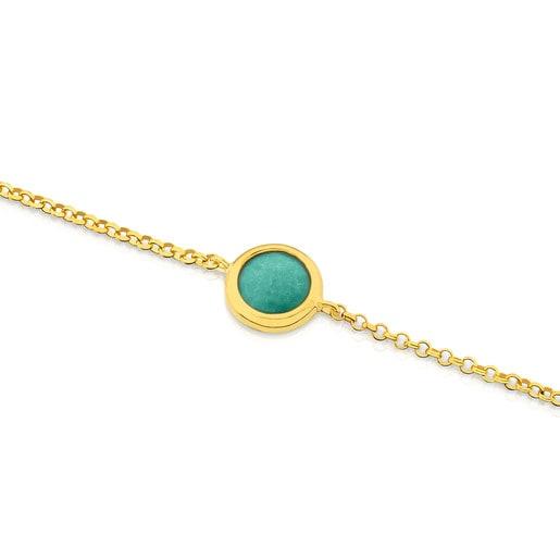 Vermeil Silver Alecia Bracelet with Amazonite