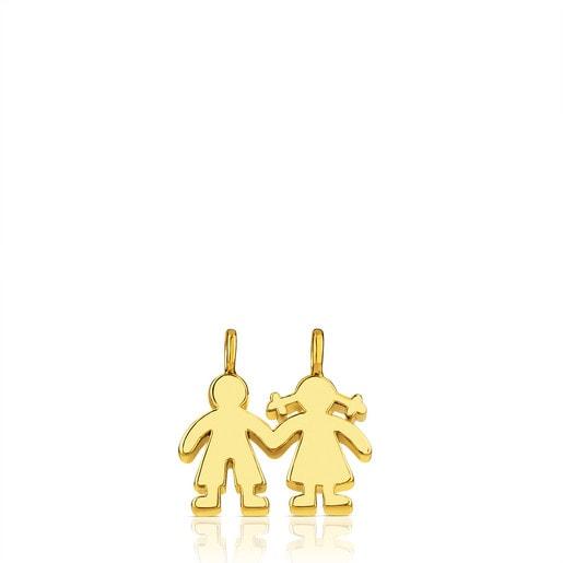 Colgante de Oro  Sweet Dolls niños