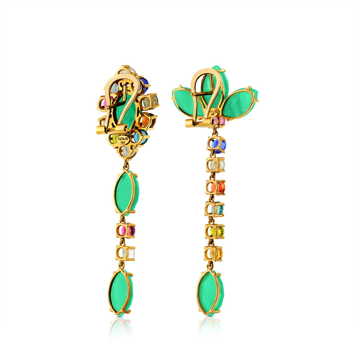 Boucles d'oreilles Beach en Or