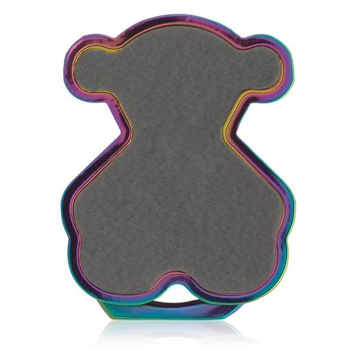 Irisierender Handyhalterring Bear