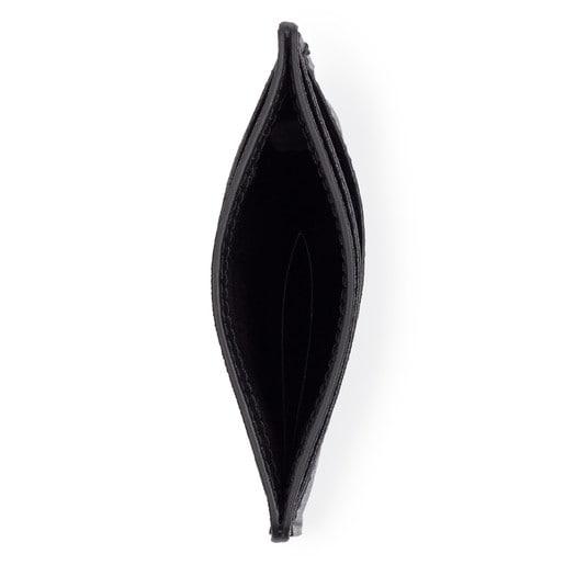 Tarjetero New Berlin de Piel en color negro