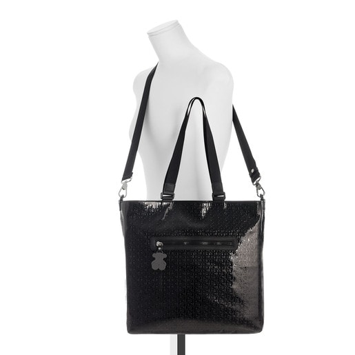 Τσάντα για τα ψώνια Lindsay σε μαύρο χρώμα