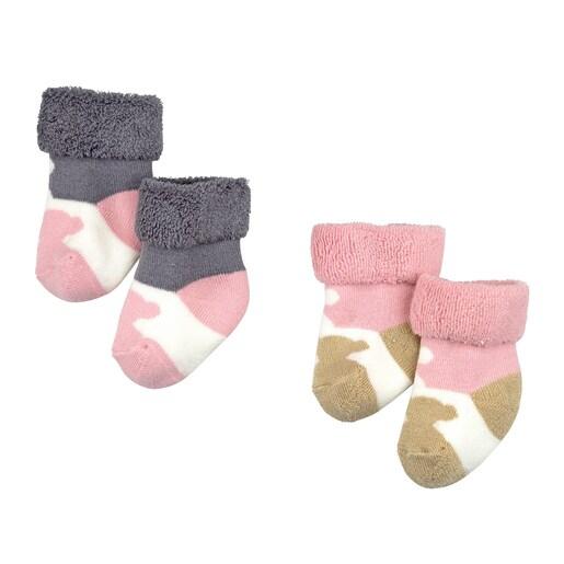 Conjunto de peúgas Sweet Socks 1301 Rosa