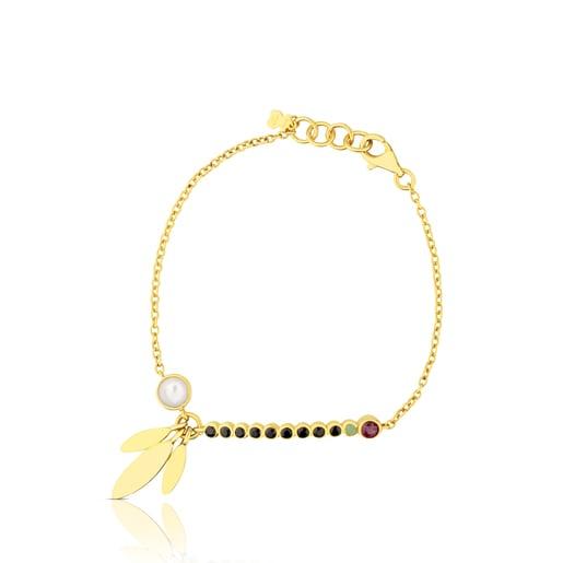 Vermeil Silver Sky Power Bracelet with Gemstones