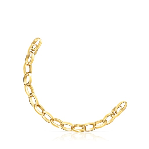 Hold oval Vermeil Bracelet
