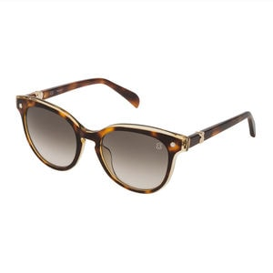 Havana Metal and Acetate Pantos Pearl Sunglasses