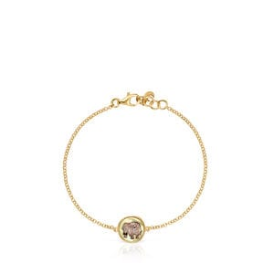 La XIII Bracelet in Gold Vermeil with Mother-of-Pearl