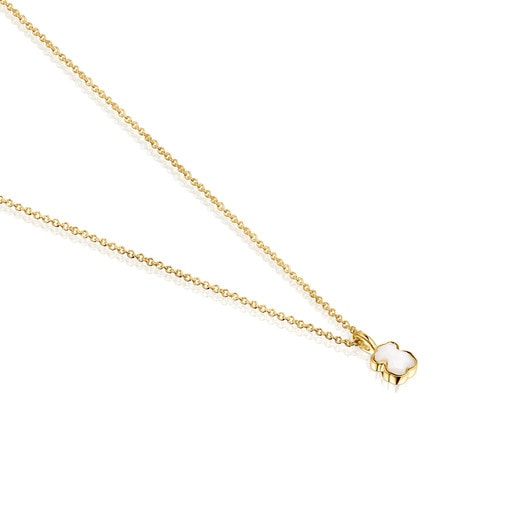 Gold and Mother-of-Pearl Glory Necklace