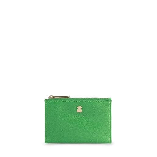 Portemonnaie und Kartenetui Dorp in Grün