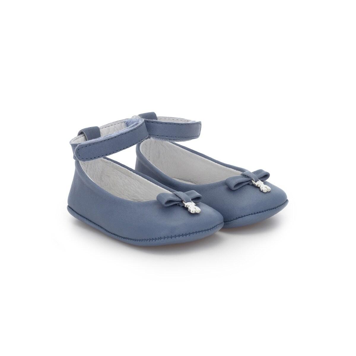 Mini Walk Nature Ballet Shoes In Blue Tous Site Puerto Rico