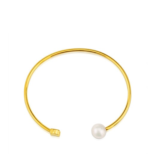 Gold Sweet Dolls Bracelet with Pearl