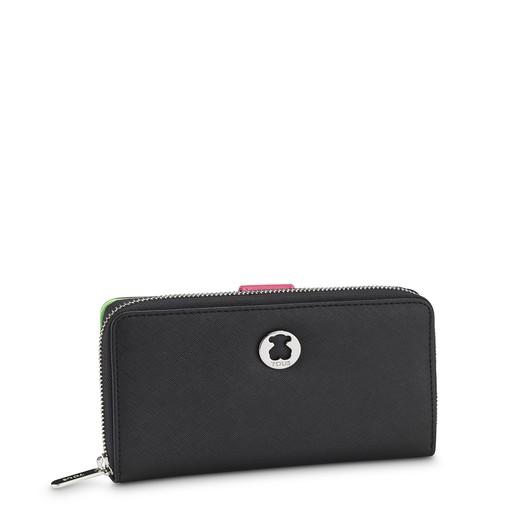 Black Dubai Saffiano Wallet