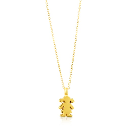 Collar Sweet Dolls de Oro