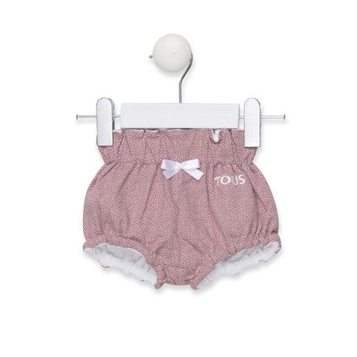 Chill T-shirt and nappy cover briefs set in brown